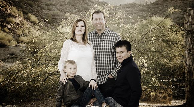 Family Portrait Scorpion Gulch South Mountain