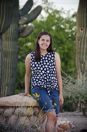 Shelby Senior Portrait Gilbert Arizona